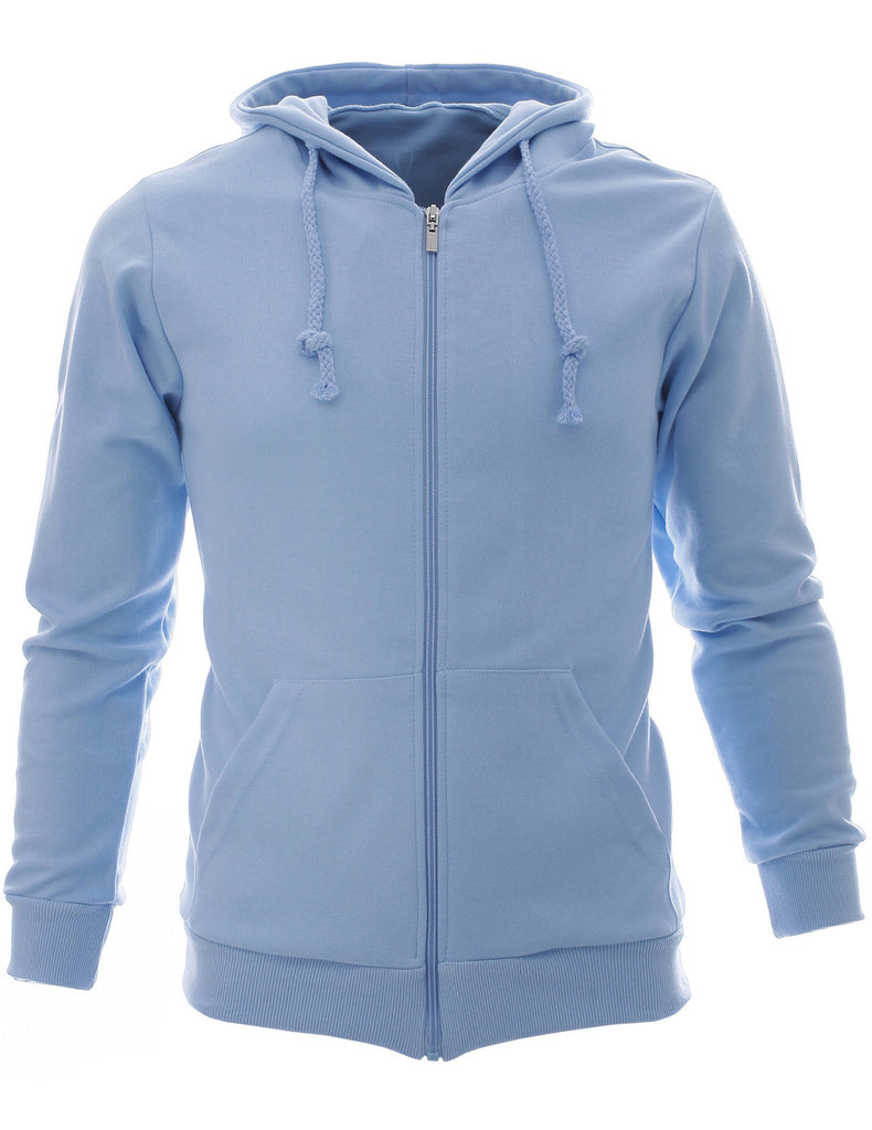 Mens Slim Zip Up Hoodie Collection (HZ01)