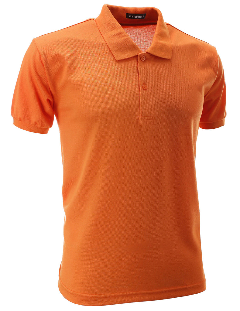 Mens Slim Polo Shirts (PS01)