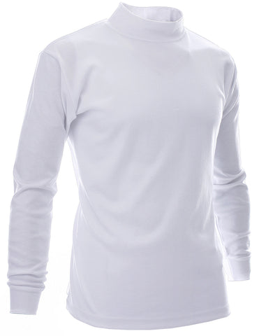Mens Mock Turtle Neck T-Shirts (TTN01)