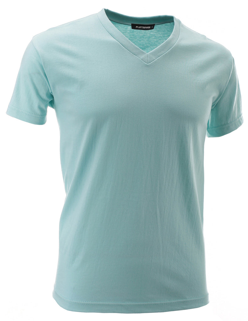 Mens V-Neck Cotton T-Shirts (TVS01)