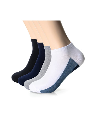 Mens Fashion Casual Dress Ankle Socks (XMM1001V)