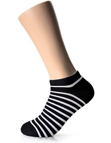 Mens Fashion Simple Stripe Casual Dress Socks (XMM1001Z)