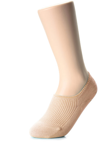 Womens Fashion Casual Dress Solid No Show Socks (XWS1001D)