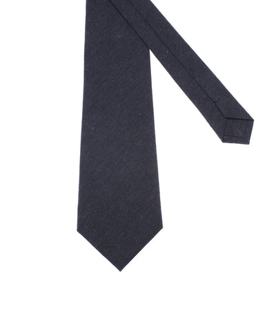 Mens Designer Classic Solid Color Neck Tie Cotton (YA006)