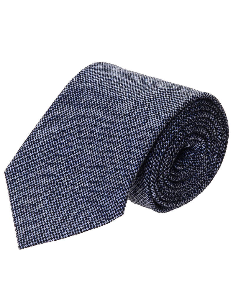 Mens Casual Woven Houndstooth Check Pattern Tie (YA016)