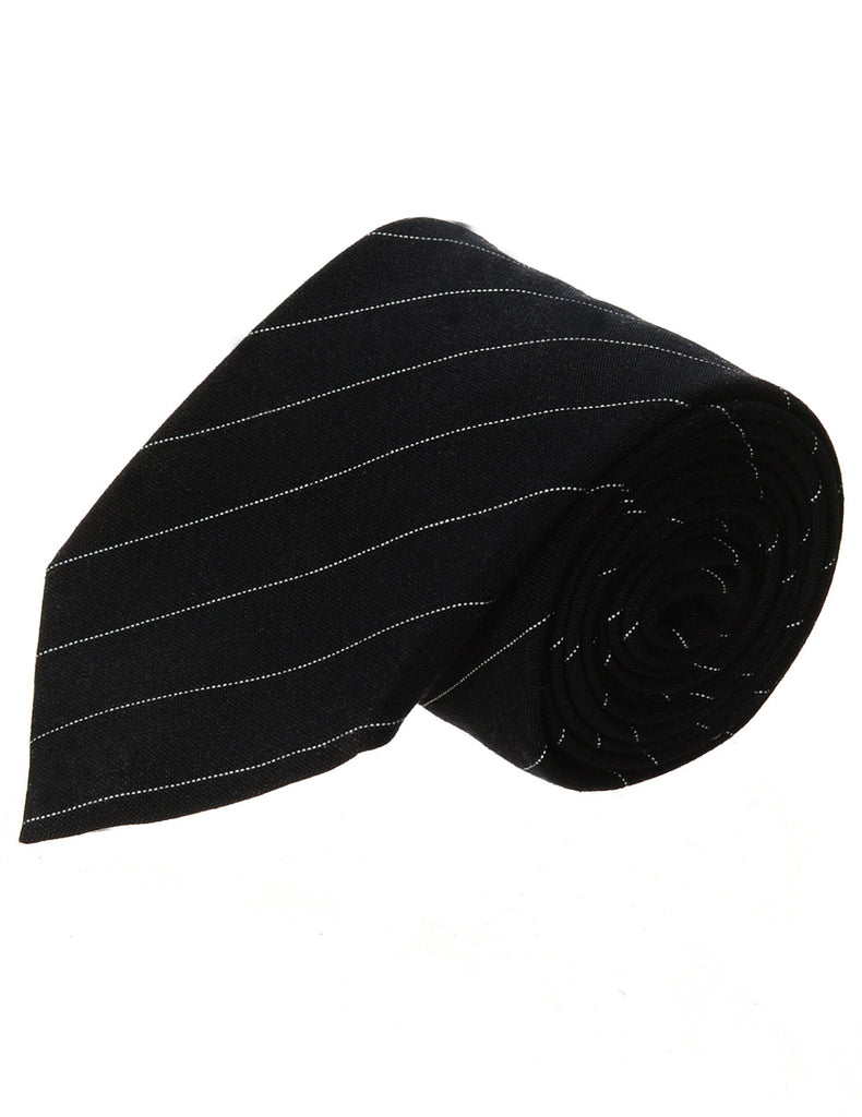Mens Designer Classic Narrow Pinstriped Neck Tie (YA017)