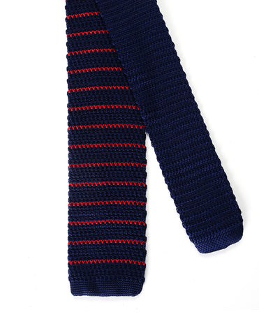Mens Casual Wave Stripe Knit Tie Necktie (YA505)