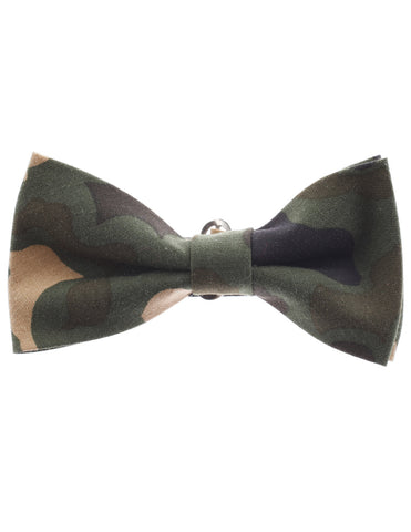 Mens Military Camo Pattern Pre-Tied Bow Tie (YB001)