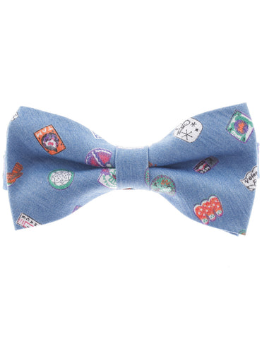Mens Pre-Tied Casual Bow Tie Color Pattern (YB011)