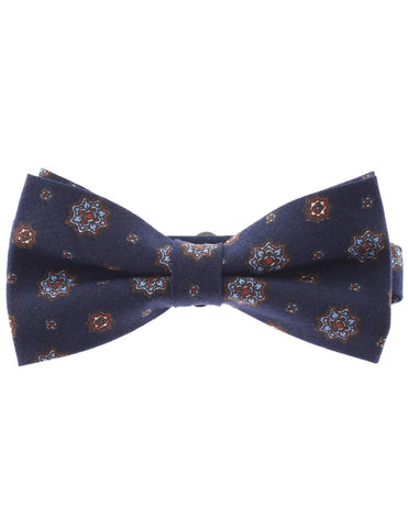 Mens Pre-Tied Casual Flower Pattern Bow Tie (YB013)