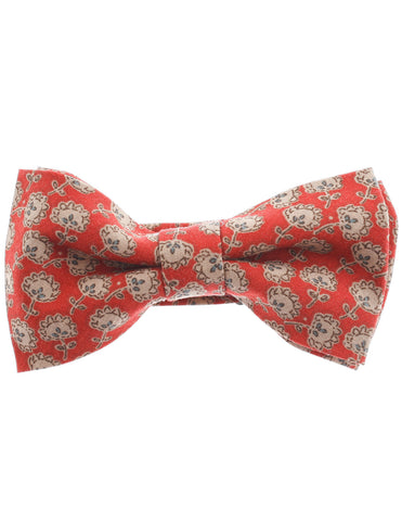 Mens Pre-Tied Floral Printed Classic Bow Tie (YB017)