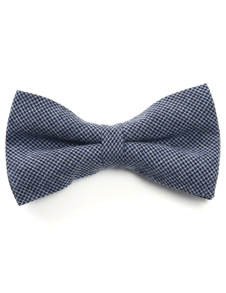 Mens Classic Houndstooth Check Pattern Pre-tied Bow Tie (YB026)