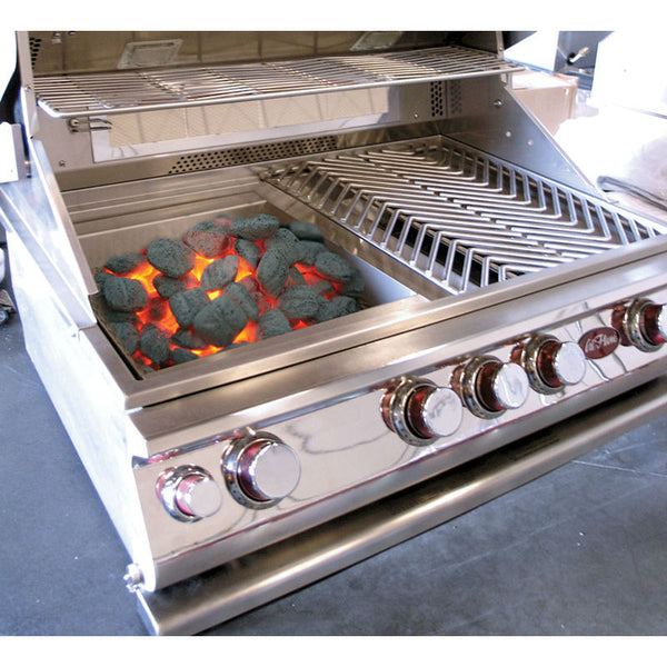 Cal Flame Removable Stainless Steel Charcoal Tray Grill