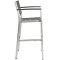 Modway Shore Outdoor Patio Aluminum Bar Stool EEI-2254