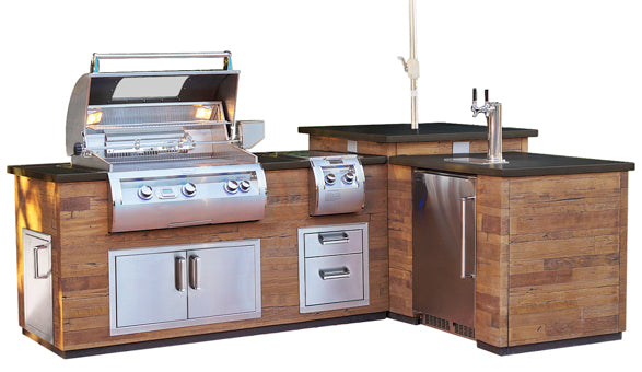 Fire Magic French Oak L Bbq Island W E660i Echelon
