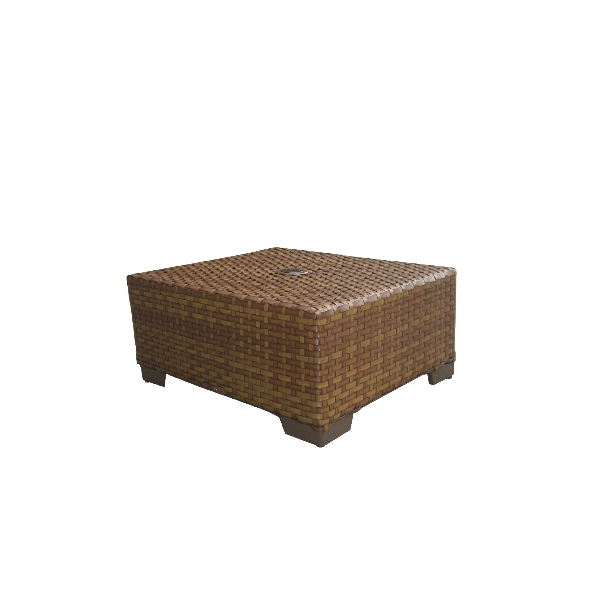 dark coffee wicker table indoor cocktail ikea brown