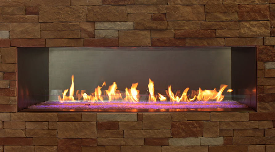 Empire Carol Rose 60 Inch Outdoor Linear Gas Fireplace