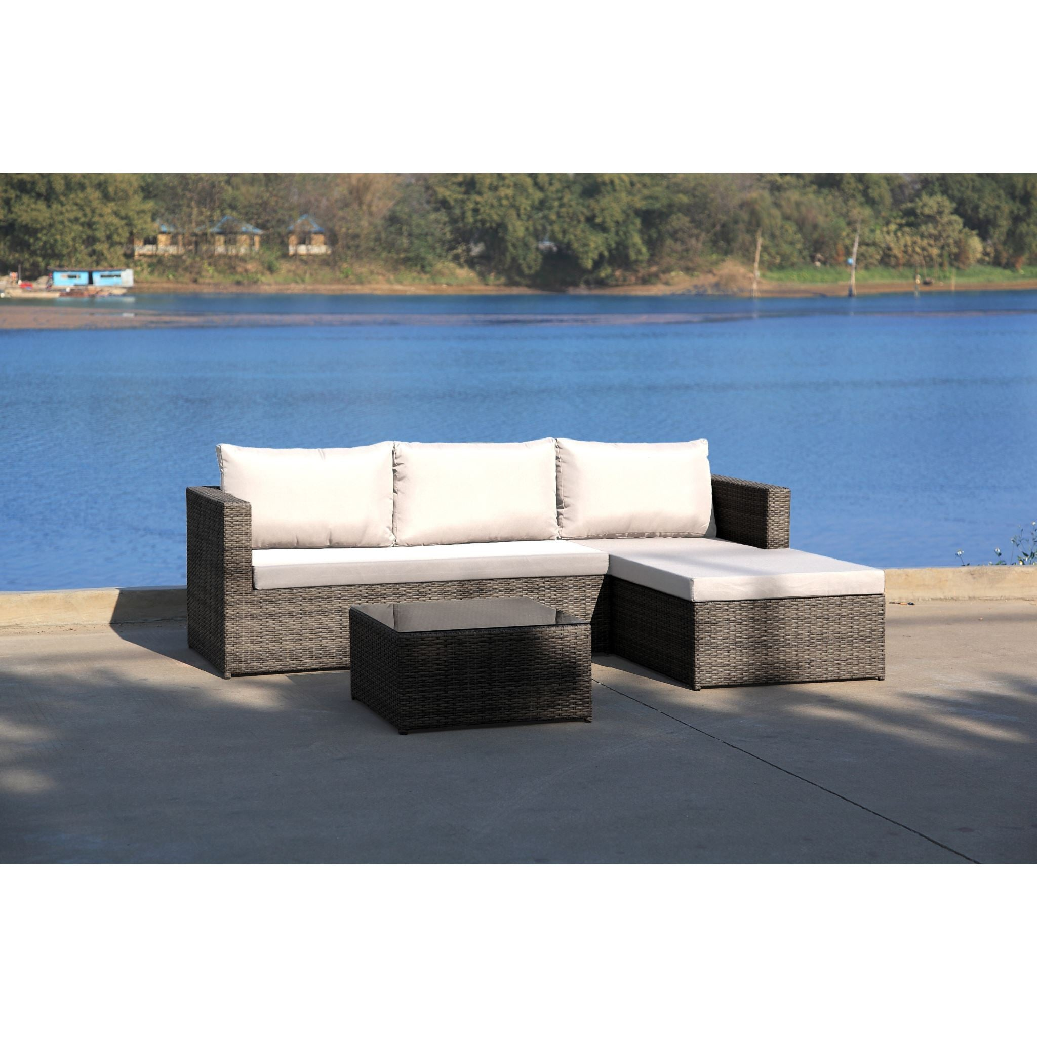 "Sectional Sets tagged ""Sapphire"" BetterPatio"