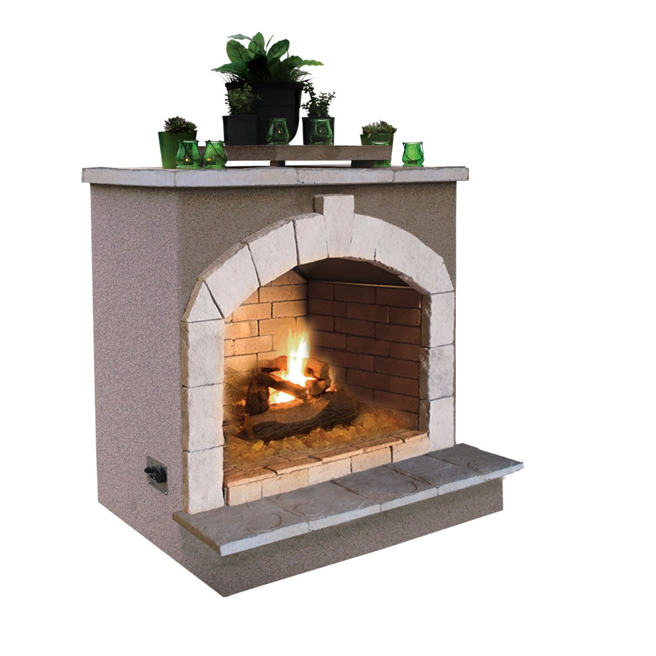 Cal Flame 48 Inch Outdoor Fireplace Frp 908 2