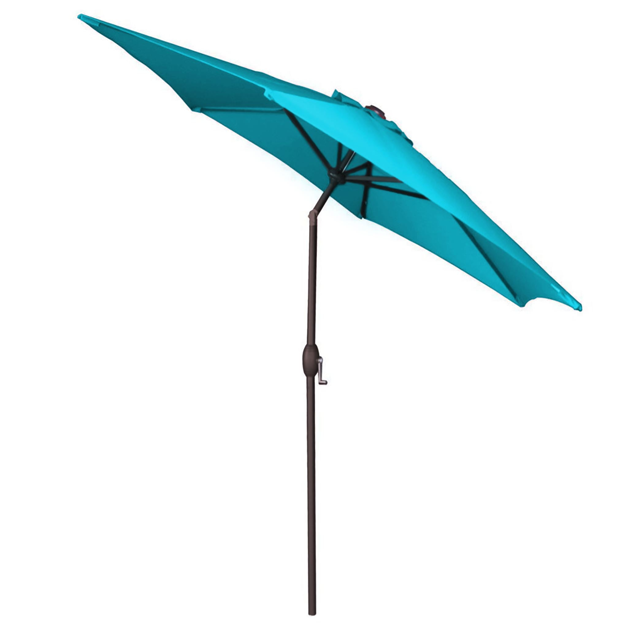 Panama Jack Teal 9 Ft Aluminum Patio Umbrella W Crank Pjo