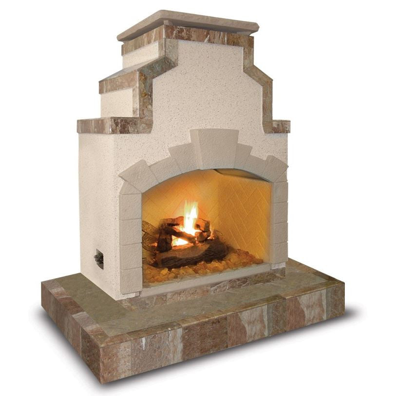 Cal Flame 72 Inch Outdoor Fireplace Frp 910 3 Betterpatio Com
