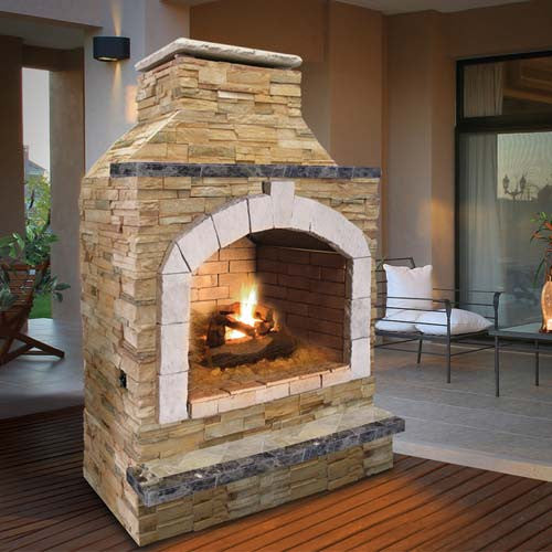 Cal Flame 48 Inch Outdoor Fireplace Frp 909 2 Betterpatio Com
