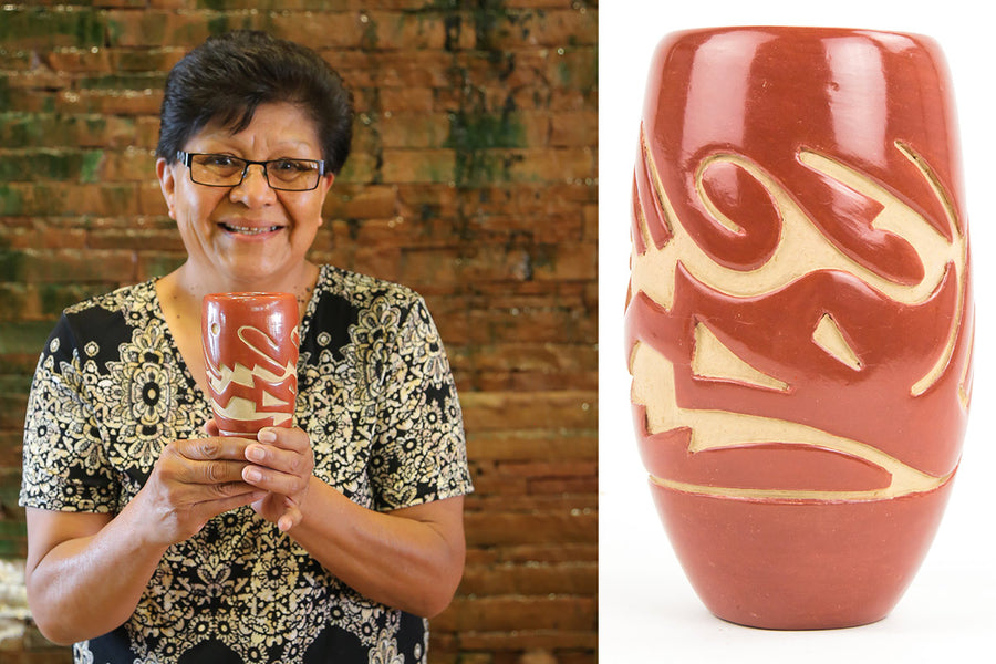 Denise Chavarria and the Santa Clara Craft