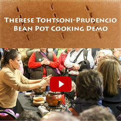 Watch the Cooking with Micaceous Bean Pots Demo