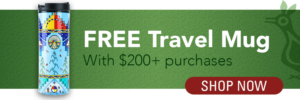 Cyber Weekend Special, free 40th annivresary travel mug with any purchase of $200 or more