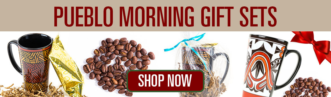 Southwest Native American Pueblo Holiday Coffe Gift Sets