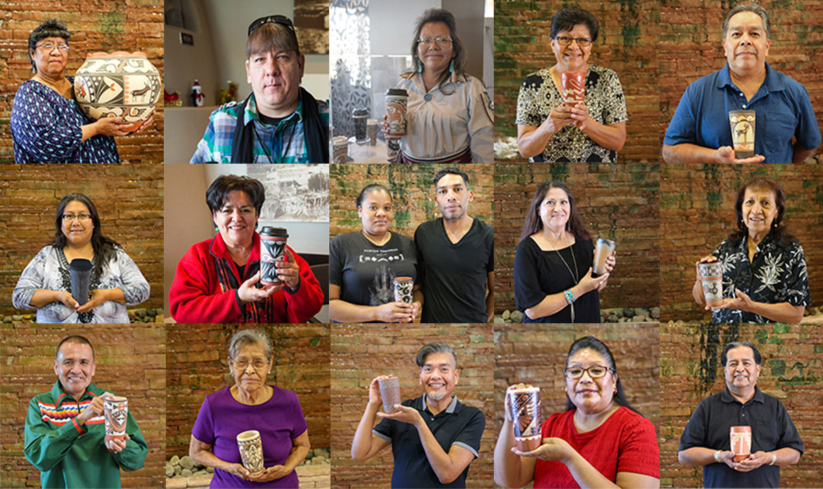 Pueblo Pottery Mug Artists