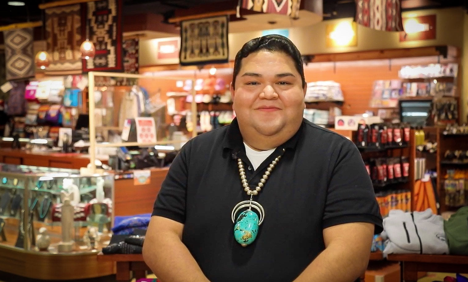 Shane Smith Native American Art and Jewelry Expert at the Indian Pueblo Store