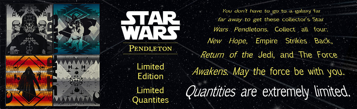 Official Star Wars Pendleton Blankets