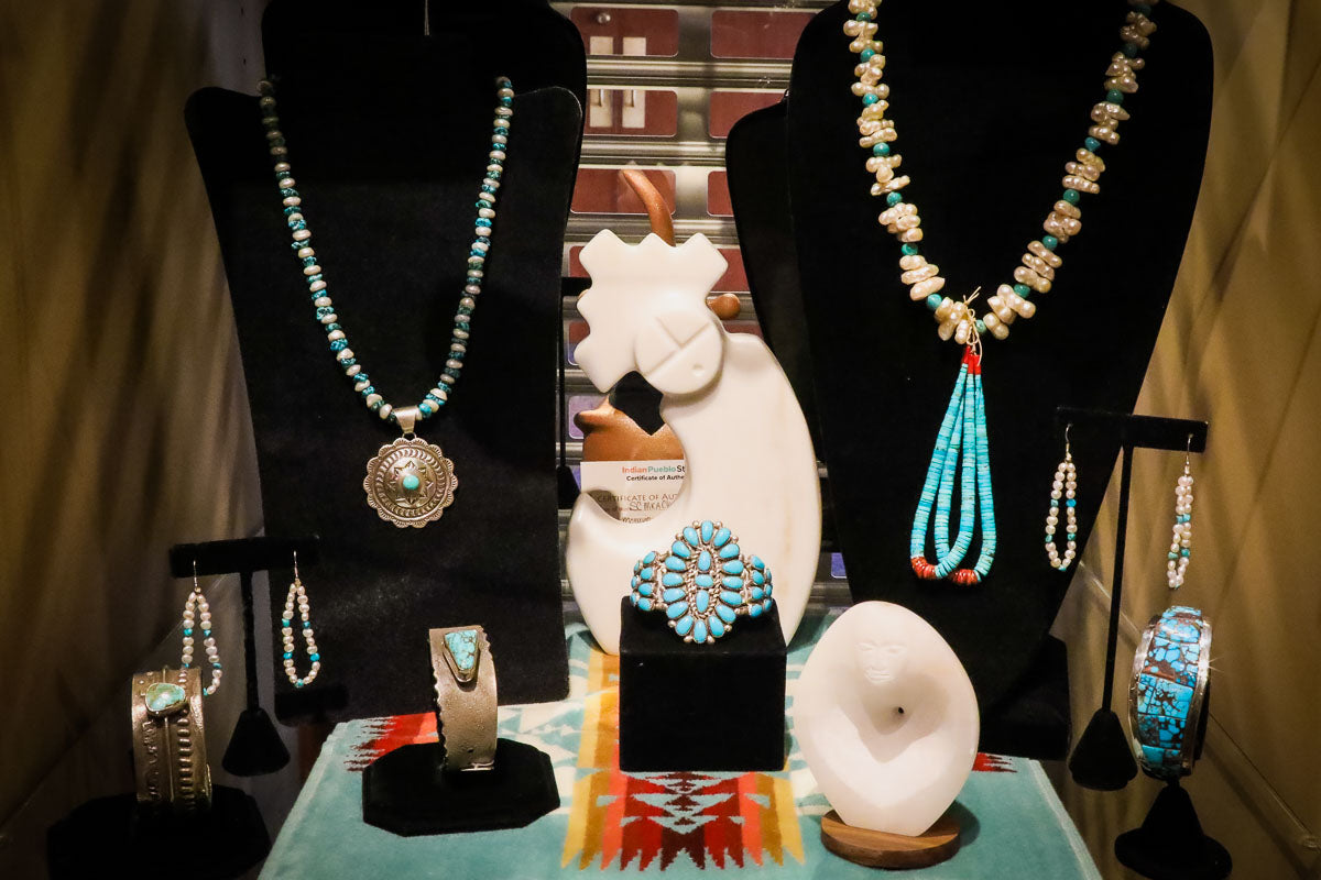 Turquoise and Pearls Native American Jewelry Styles