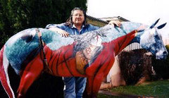 """When We  Were As One"" Trail of the Painted Pony Auctioned for $45,000 First Preston Addison, Texas"