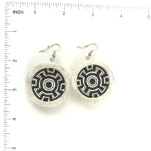 Load image into Gallery viewer, Elmer Yungotsuna Cottonwood Apache Basket Earrings-Indian Pueblo Store
