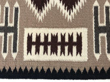 Load image into Gallery viewer, Lucinda Tallbrother Storm Pattern Navajo Rug-Indian Pueblo Store