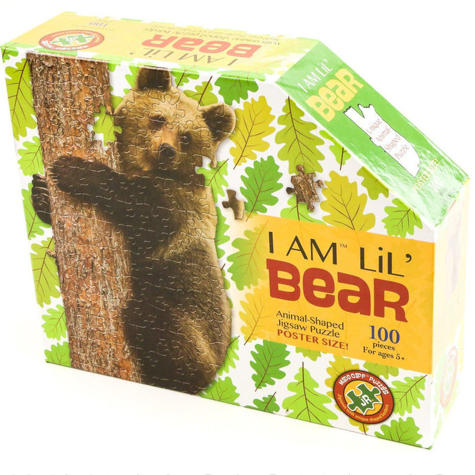 I Am Lil' Bear 100 Piece Madd Capp Puzzle - Shumakolowa Native Arts