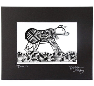 Dalton James Hopi Bear III Print - Shumakolowa Native Arts