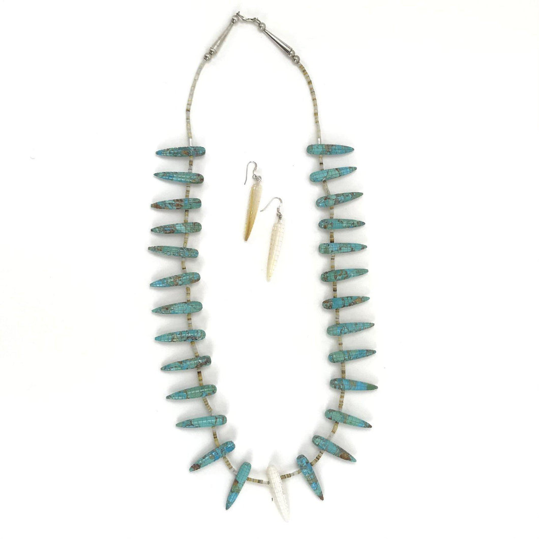 Daniel Aguilar Corn Fetish Necklace Set-Indian Pueblo Store