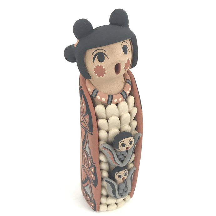 Chrislyn Fragua Jemez Corn Maiden Figurine-Indian Pueblo Store