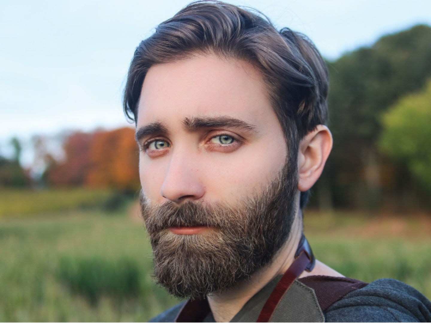 Trimming and shaping a beard