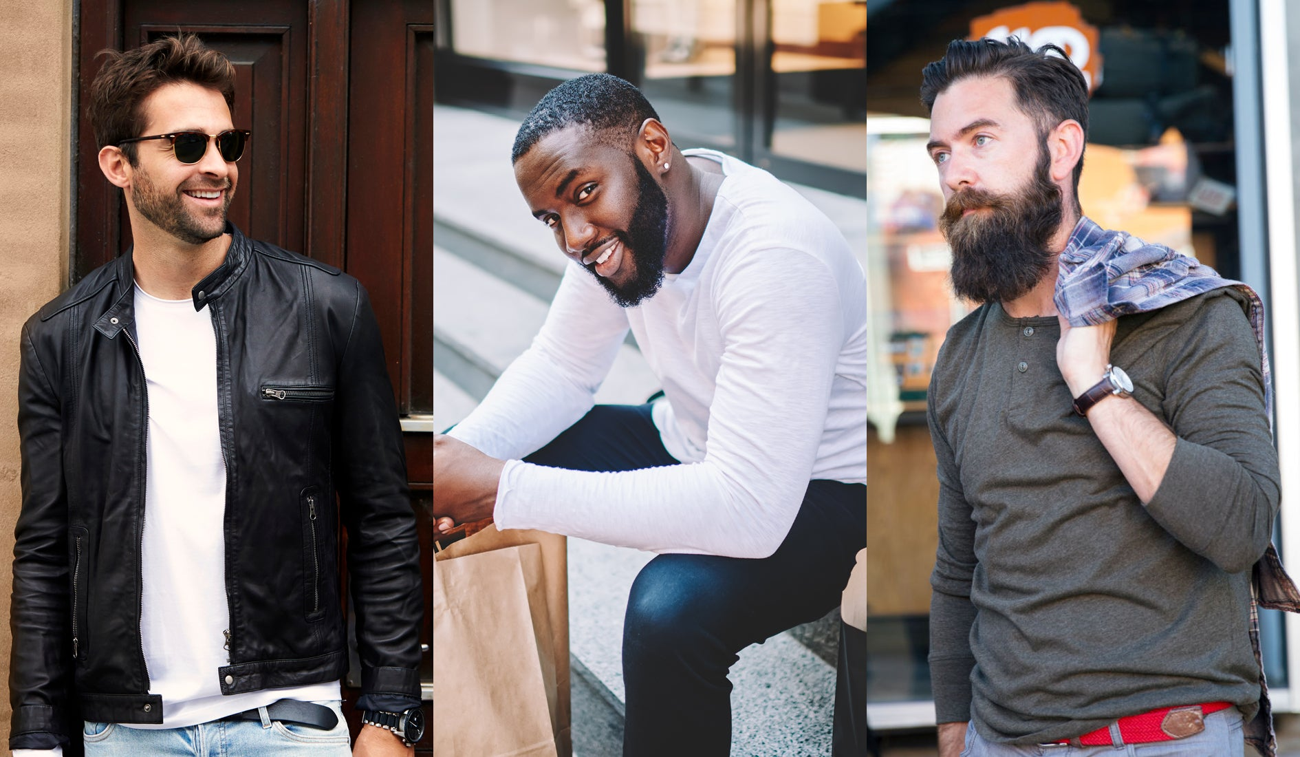 different beard lengths and sizes