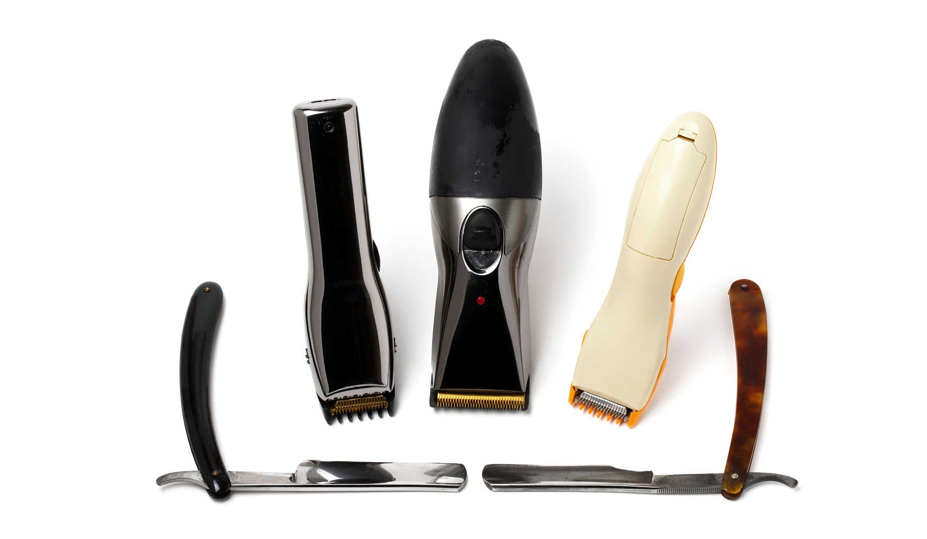 Shavkng razors and electric clippers