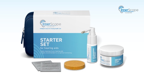 InnerScope Hearing Care Technology Hearing Aid Cleaning Kit
