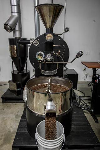 Front View of USRC Coffee Roaster