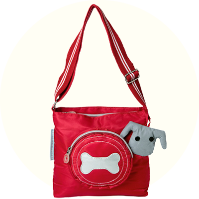 Franck & Fischer Bonnie red shoulder bag