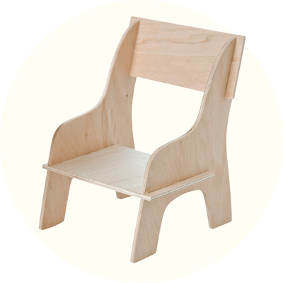 Franck & Fischer Chair Kit Plywood