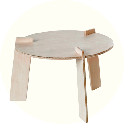 Franck & Fischer Table Kit Plywood