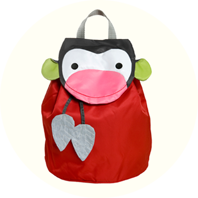 Franck & Fischer Theodor red monkey backpack
